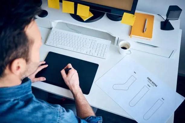 Sock IllustratorPhotoshop Design Mockup Guide