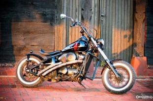 Kawasaki VN 800 bobber 7