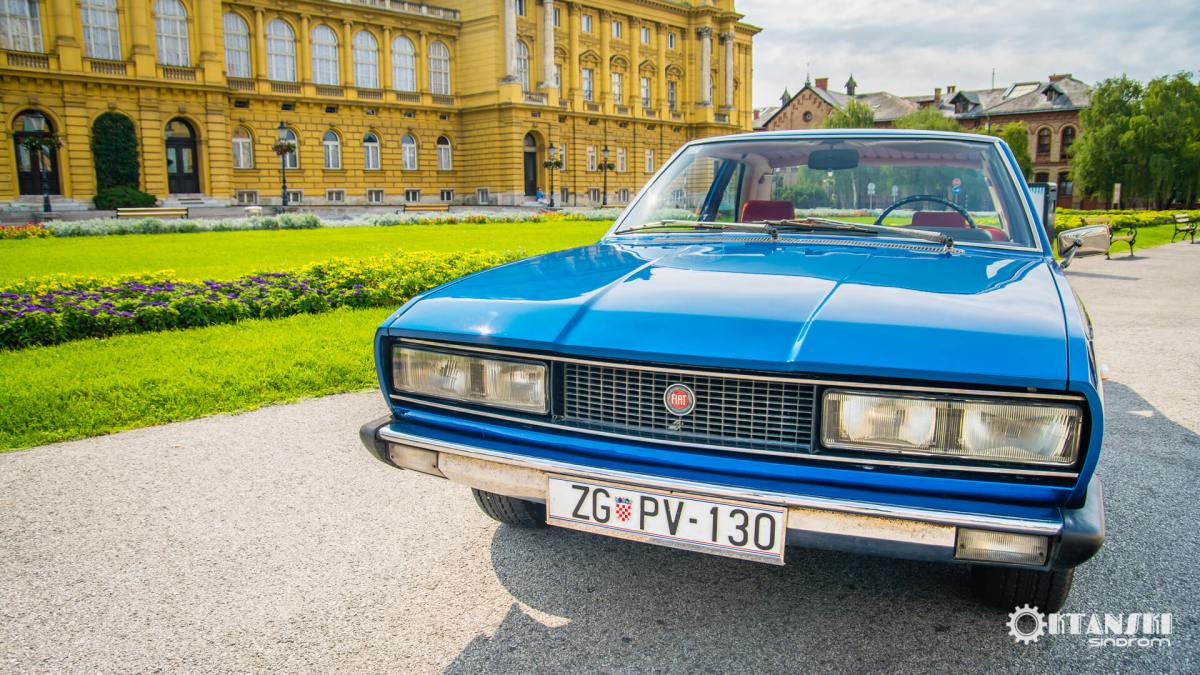 Fiat 130 Coupé Pininfarina - The Italian Grand Tourer