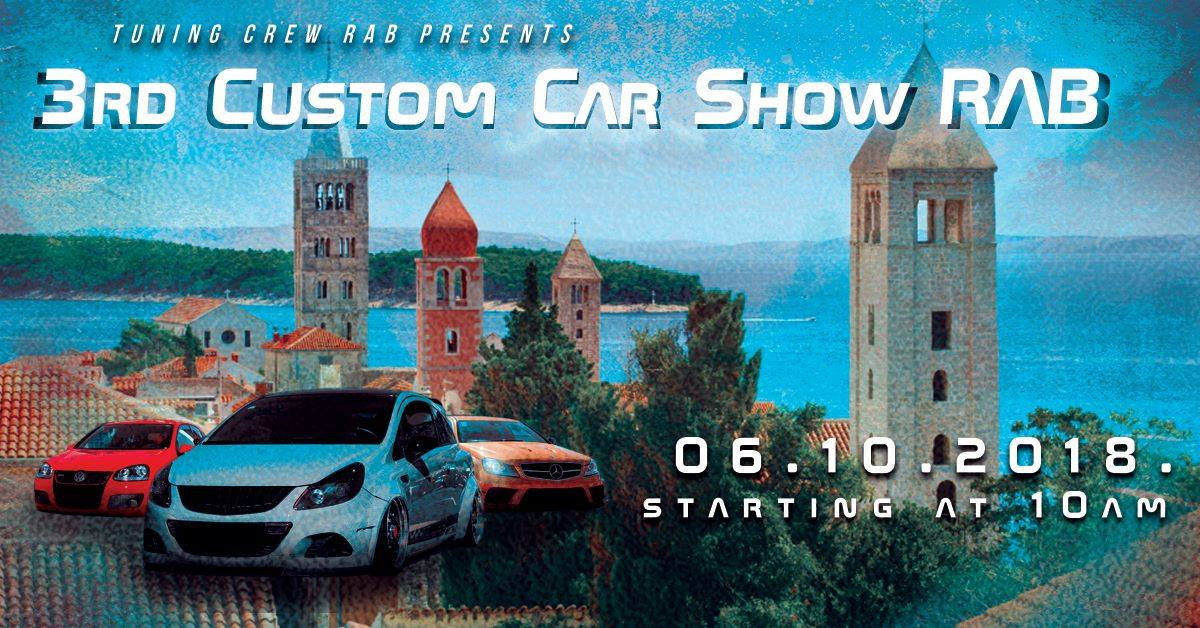 3. Custom Car Show Rab