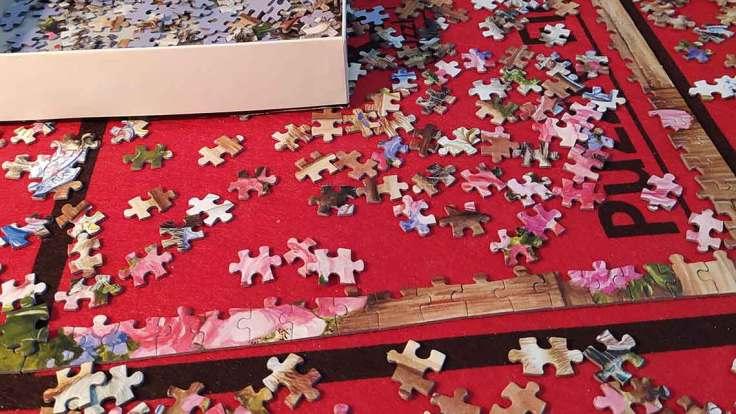 Sosyal İzolasyon süresince puzzle yapımı
