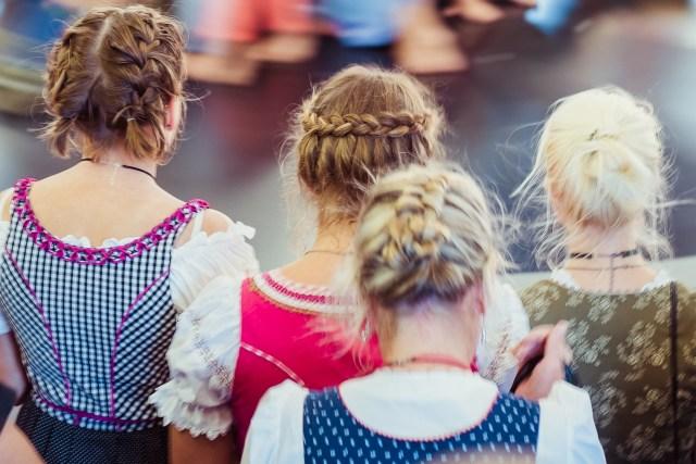 dirndl hairstyles: up all night! • oktoberfest.de - the