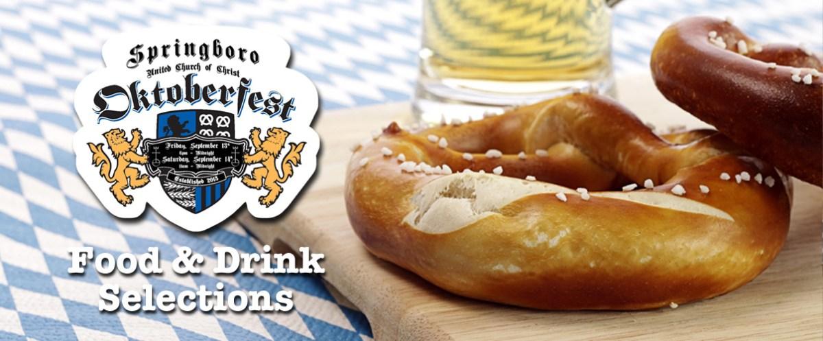 Oktoberfest Food and Drink