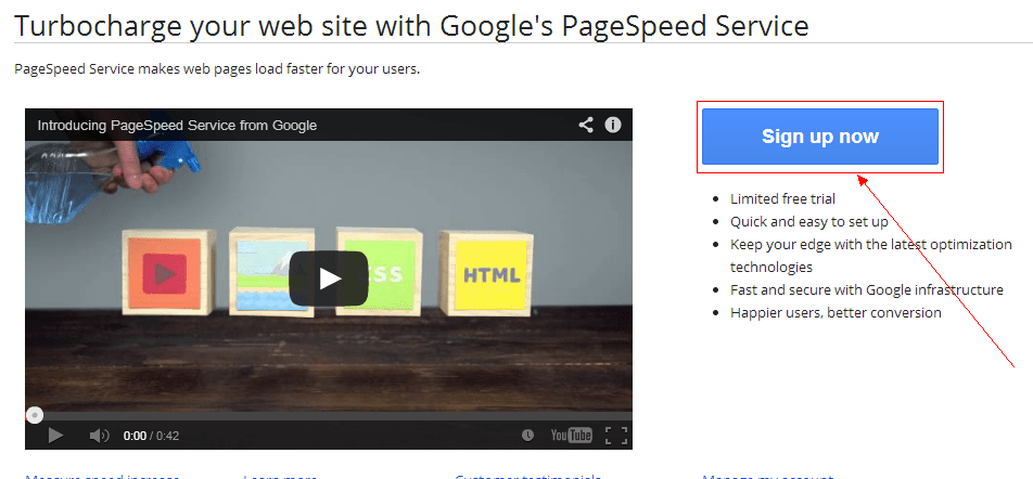 Google提供的CDN:PageSpeed Service