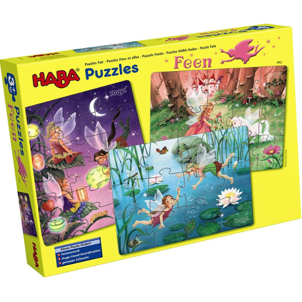Haba Puzzles Fairies