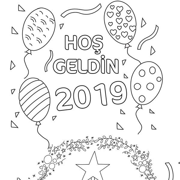 Hoşgeldin 2019 Yılbaşı Ağacı