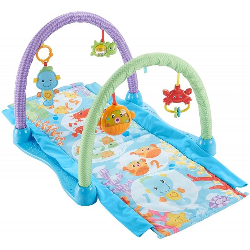 tapis d eveil fisher price musical 2 en 1 hippocampe okybox