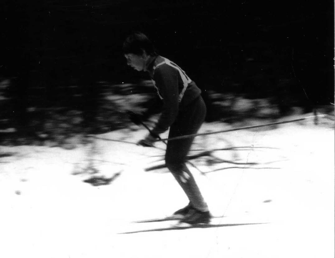Diana beim Ski-OL