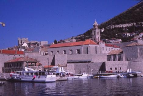 Dubrovnic, port
