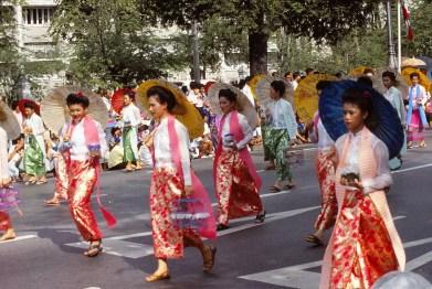 Parade festival du tourisme
