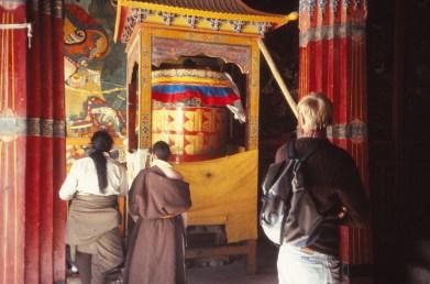 roue à prière, Potala