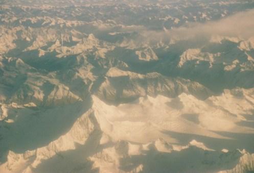 Le vol vers Lhassa