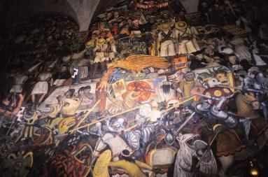 fresques, Palais présidentiel