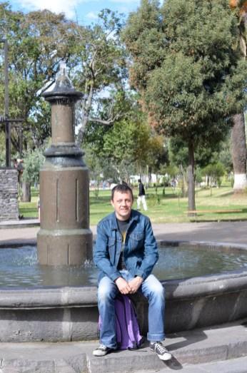 Parc entre Mariscal et Centre historique