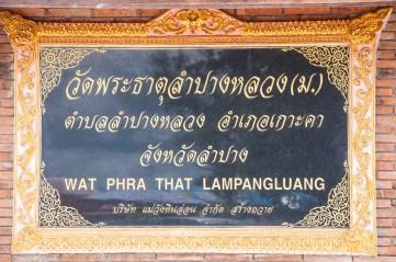 1ère étape : Lampang