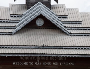 Arrivée à Mae Hong Son
