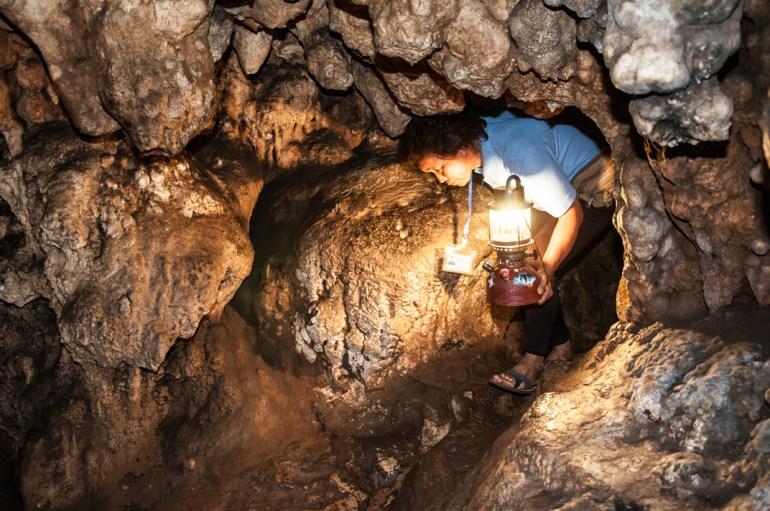 Visite de Chiang Dao caves