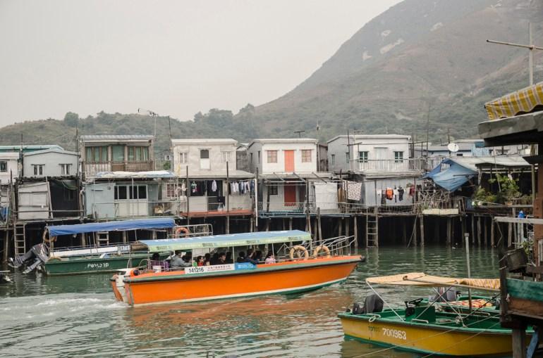 Tai O, à Lantau Island