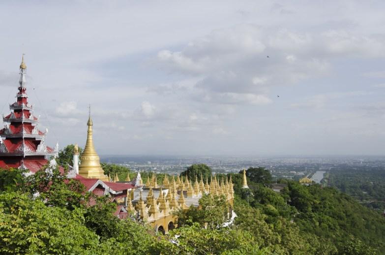 Pagode sur Mandalay Hill