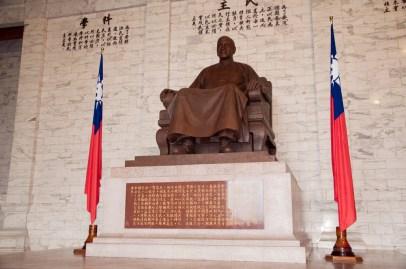 Statue de Chiang Kai-shek