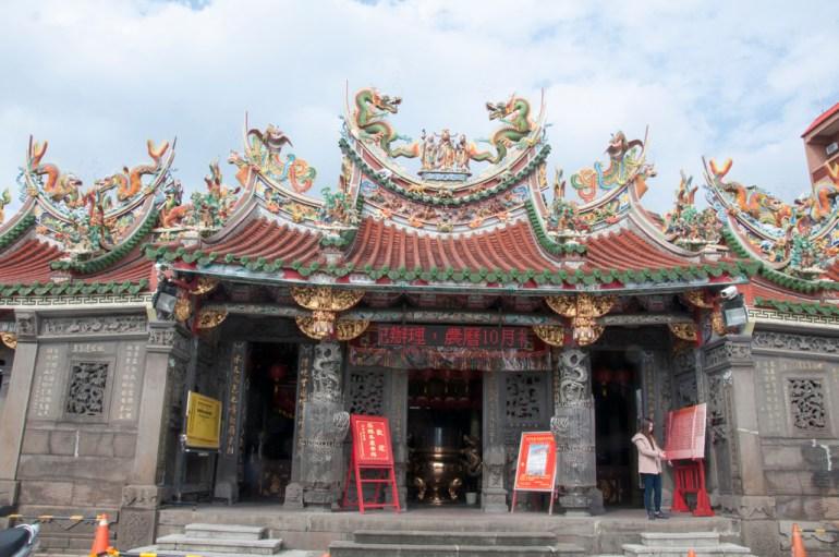 Un des nombreux temples chinois
