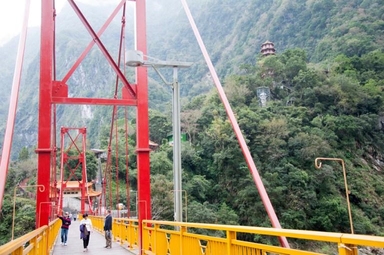 Passerelle, Taroko gorges