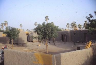 Le village qui nous a hébergé