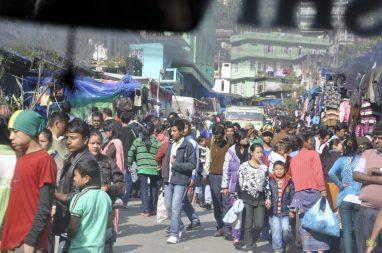 1ère bourgade au Sikkim