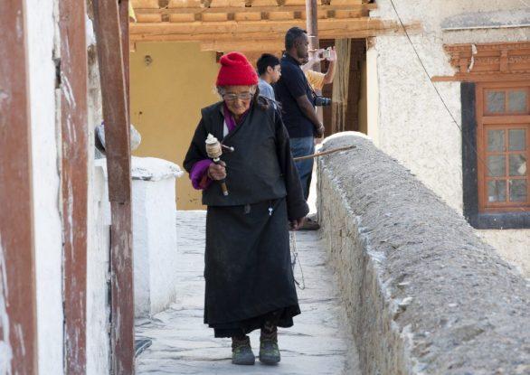 Pèlerin à Lamayuru
