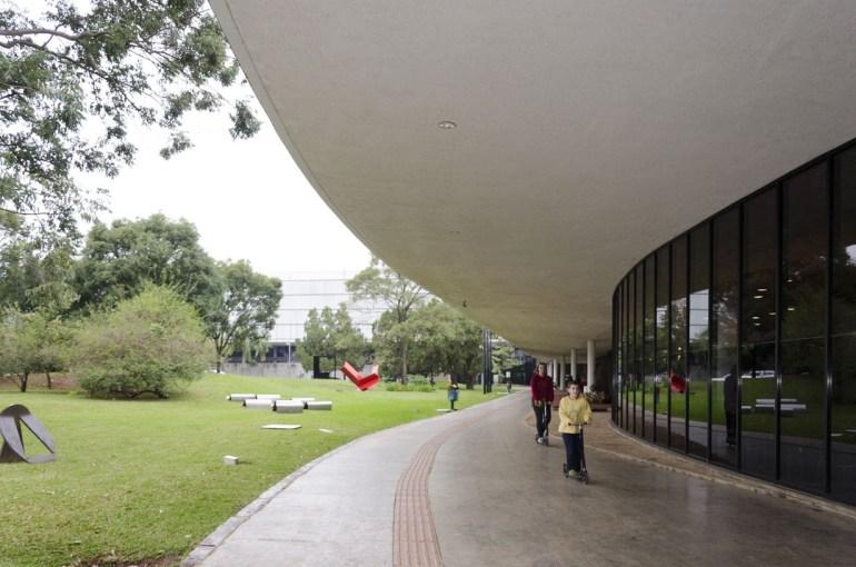 Musée dans le parc Ibirapuera