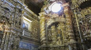 Intérieur très baroque
