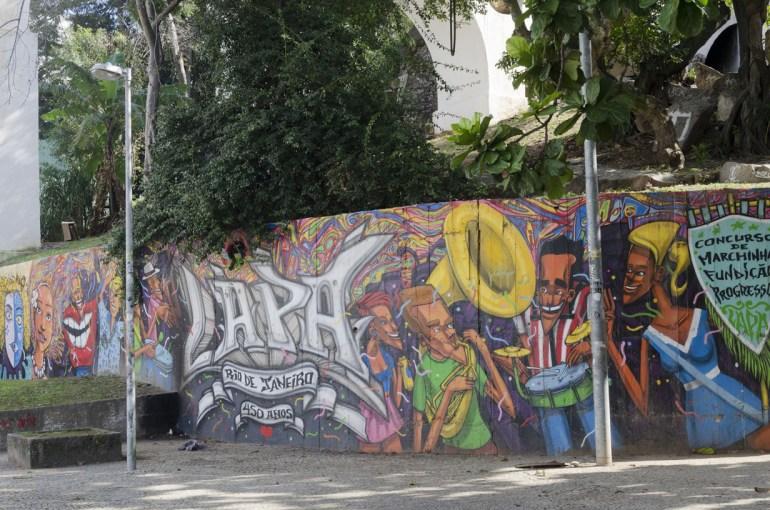 Street art, près des jardins botanique