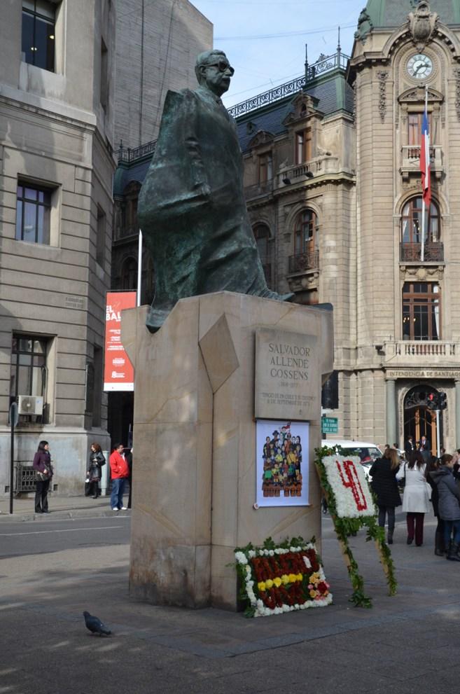 Statue de Allende
