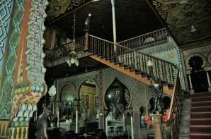 Intérieur d'une vieille maison