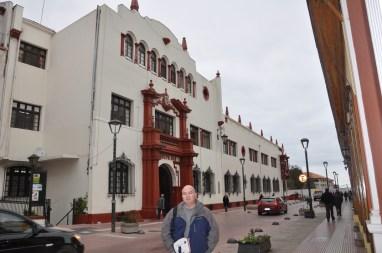Façade coloniale, La Serena