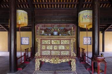 Intérieur d'un des nombreux palais