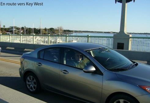 En route vers Key West