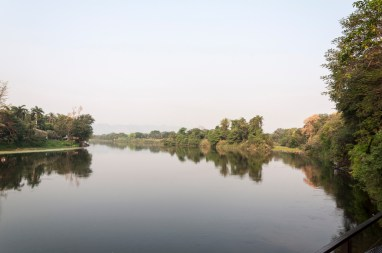 La rivière Kwaï à Kanchanaburi