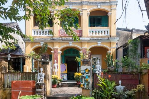 Musée photo dans une maison coloniale française