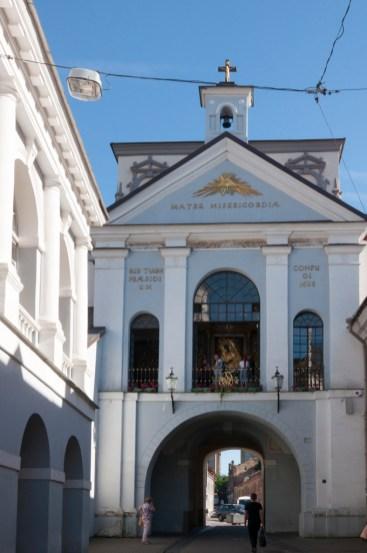 porte de l'Aurore, centre historique
