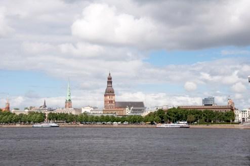 Vue du centre historique