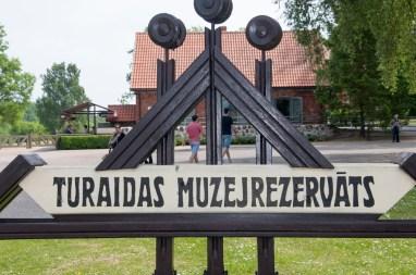 Parc du château de Turaidas