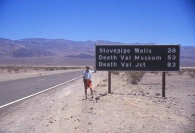 vers la vallée de la mort