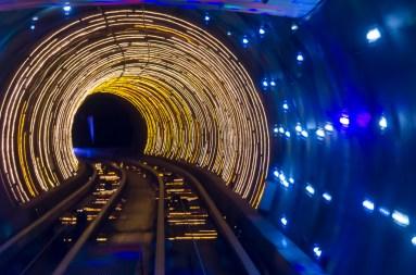 Tunnel touristique du Bund
