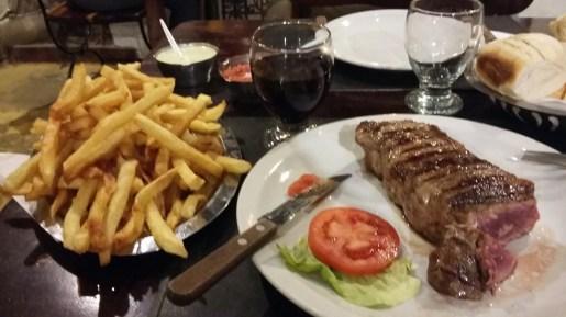 Carne y vino, c'est l'Argentine