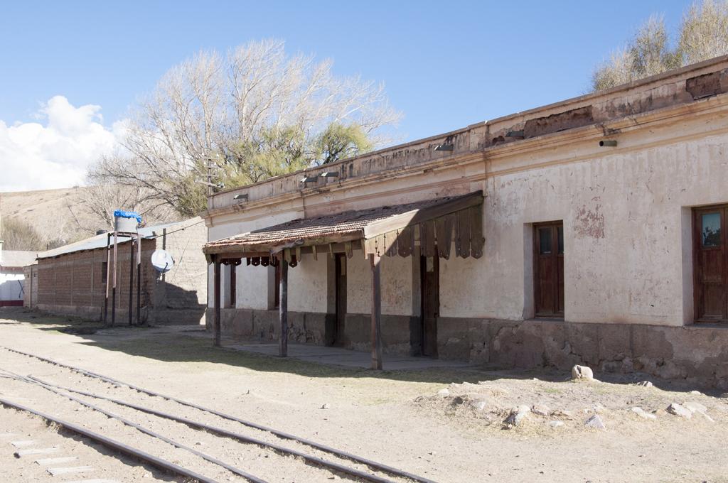 retour vers Humahuaca : gare fantome