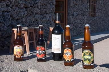 Différents types de bières (quinoa...)