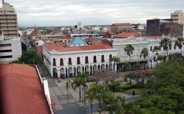 place centrale de Santa Cruz