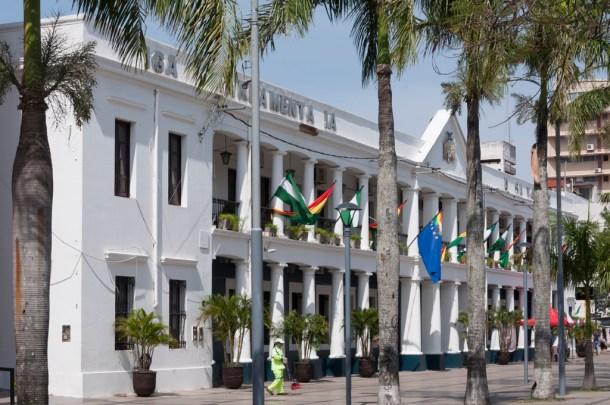 Santa Cruz place centrale