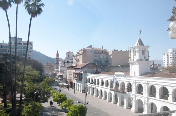 La place principale, Salta